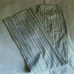 Tommy Hilfiger Stretch Cotton Striped Trouser GUC